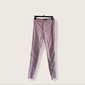 JCJO Highwaisted Pink Jeans